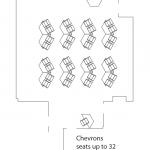 chevron layout