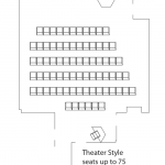 theater style layout