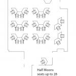 half moon layout