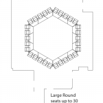 large round layout